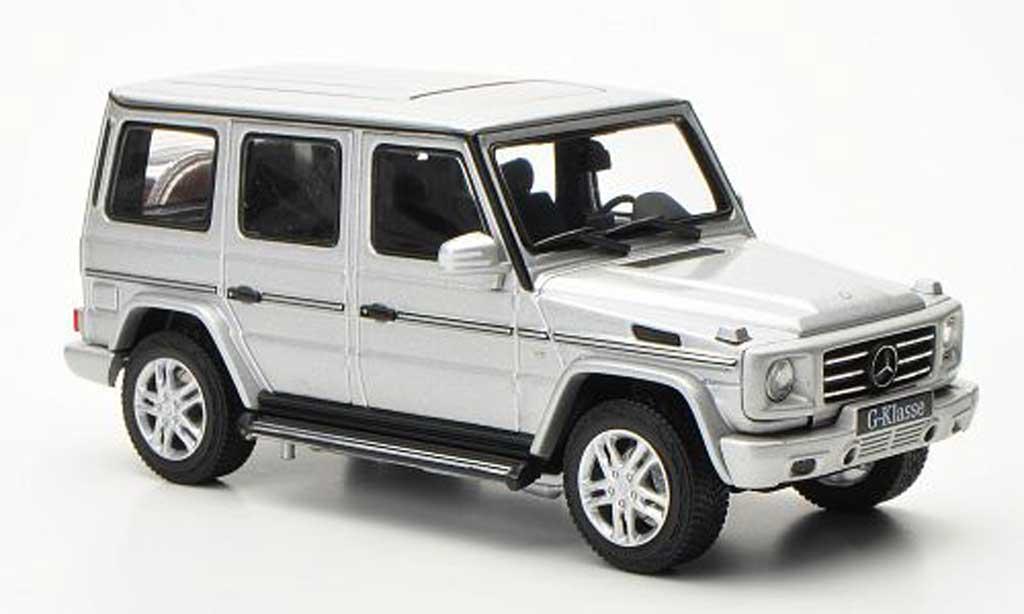 Mercedes Classe G 1/43 Autoart G500 (W463) grise 2012 miniature