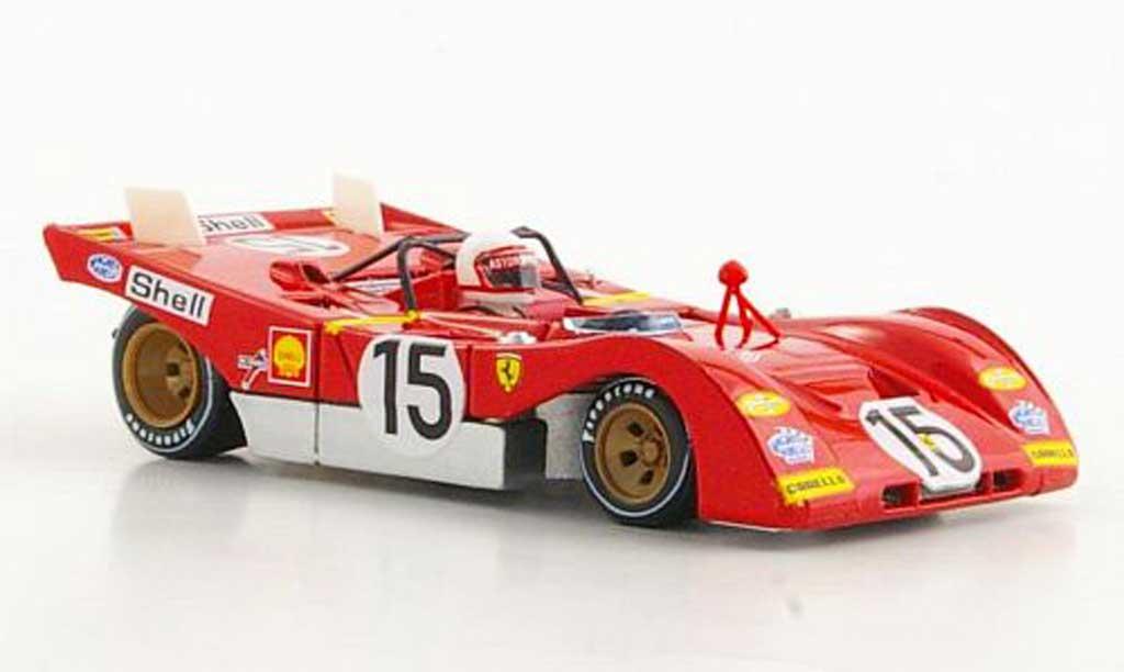 Ferrari 312 PB 1/43 Brumm No.15 J.Ickx / C.Regazzoni 1000Km Monza 1971 miniature