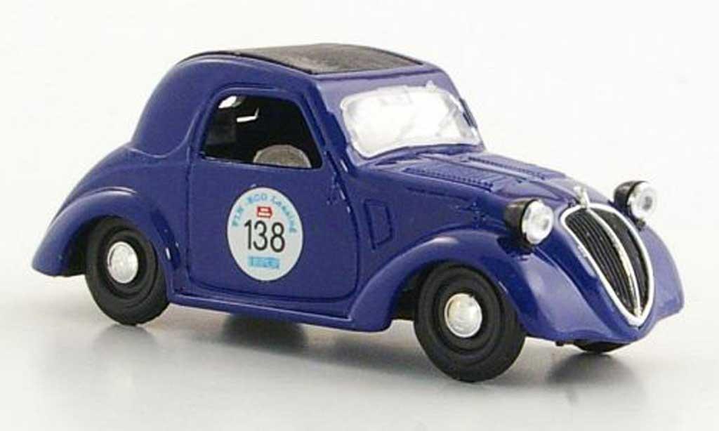 Fiat 500 1/43 Brumm A No.138 Mille Miglia 1946 diecast