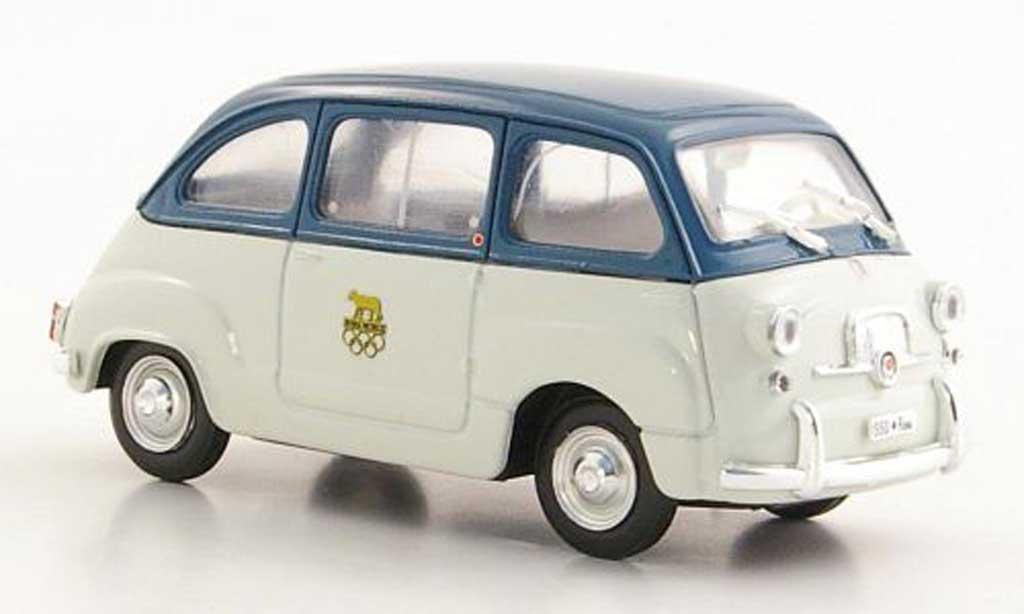 Fiat 600 1/43 Brumm D Multipla Abebe Bikila XVII. Olympiade Rom 1960 miniature