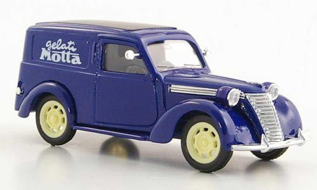 Fiat 1100 1/43 Brumm E Furgone Gelati Motta 1950 miniature