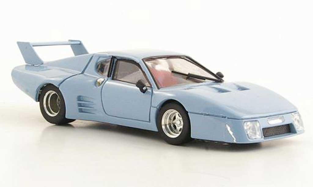 Ferrari 512 BB LM 1/43 Brumm No.62 / 63 Scuderia Pozzi - JMS 24h Le Mans 1979 coche miniatura