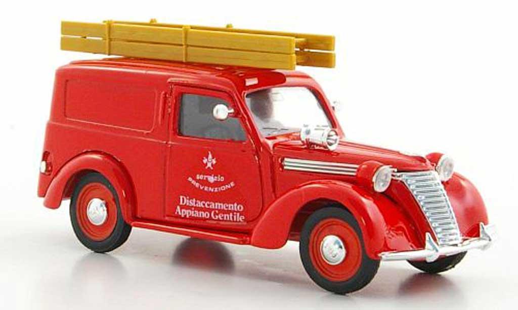 Fiat 1100 1/43 Brumm E Furgone pompier (I) 1949 diecast