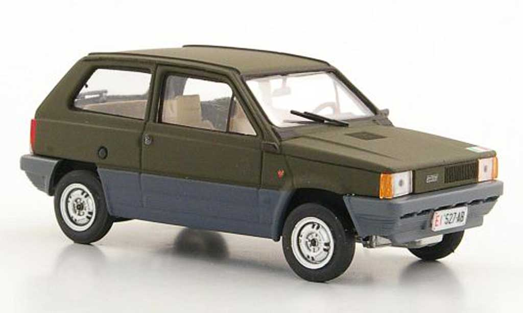 Fiat Panda 1/43 Brumm 45 italienisches Militar olivgrun 1980 miniature