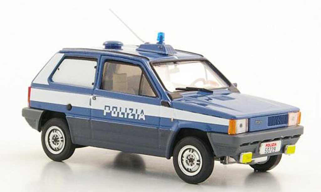 Fiat Panda 1/43 Brumm 45 Polizia Stradale - Squadra Cinofili Polizei (I) 1980 miniature