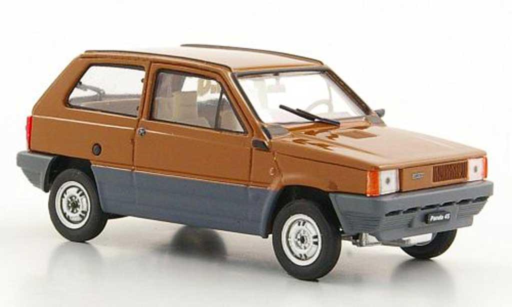 Fiat Panda 1/43 Brumm 45 marron 1980 miniature