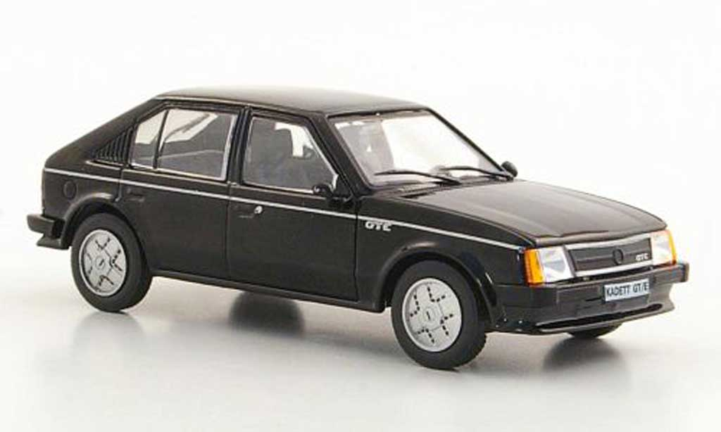 Opel Kadett D 1/43 Hachette GT/E noire (ohne Magazin) 1983 miniature