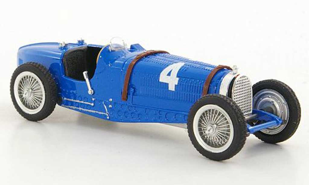 Bugatti Type 59 1/43 Brumm No.4 R.Dreyfus GP Belgien 1934 diecast