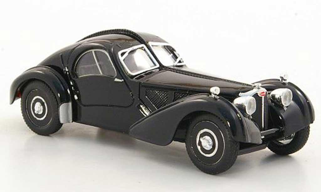 Bugatti 57 SC 1/18 Brumm Atlantic noire 1938 miniature