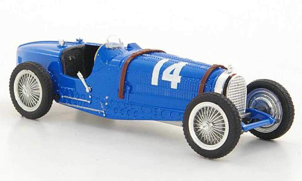 Bugatti Type 59 1/43 Brumm No.14 T.Nuvolari GP Frankreich 1934 diecast