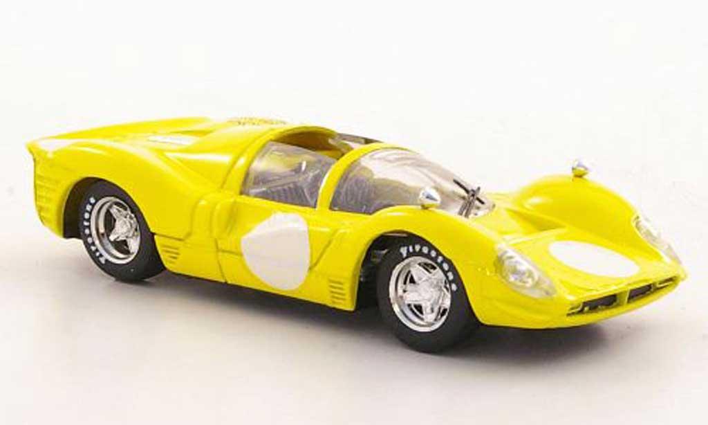 Ferrari 330 P4 1/43 Brumm Spyder jaune 35a Borsa Scambio - Verona 2002 miniature