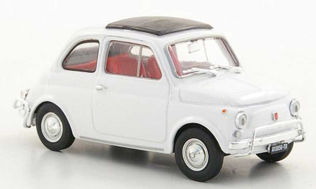 Fiat 500 L 1/43 Brumm white 1968 diecast model cars