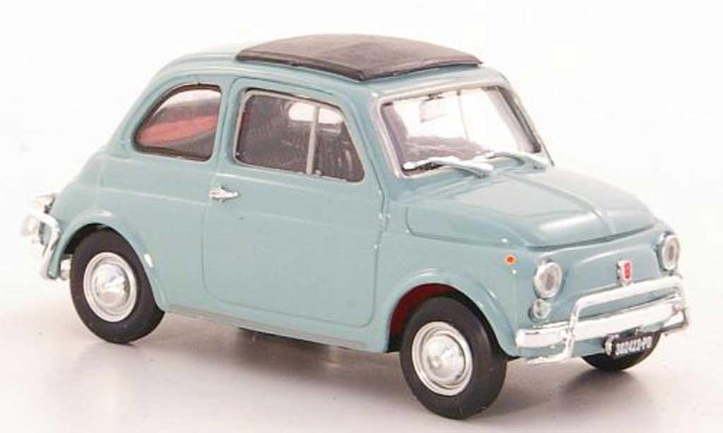 Fiat 500 L 1/43 Brumm bleugrise 1968 miniature