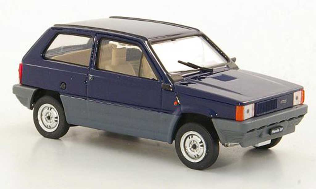 Fiat Panda 1/43 Brumm 30 bleu 1980 miniature