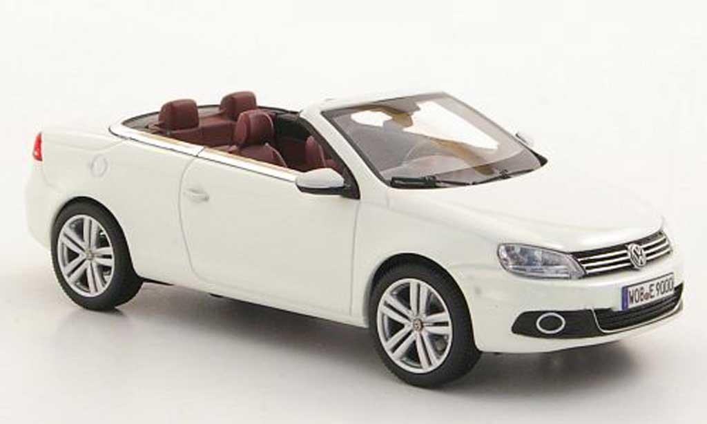 Volkswagen Eos 1/43 Kyosho blanche 2011 miniature
