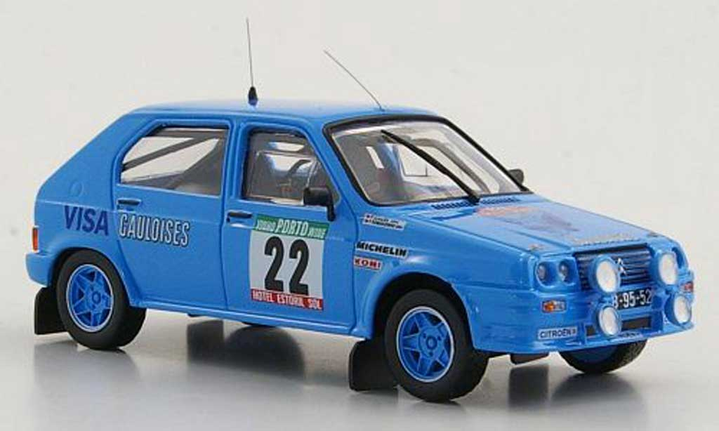Citroen Visa 1/43 Mini Partes Chrono Gr.B No.22 F.Romaozinho / P.Almeida Rally Portugal 1983 miniature