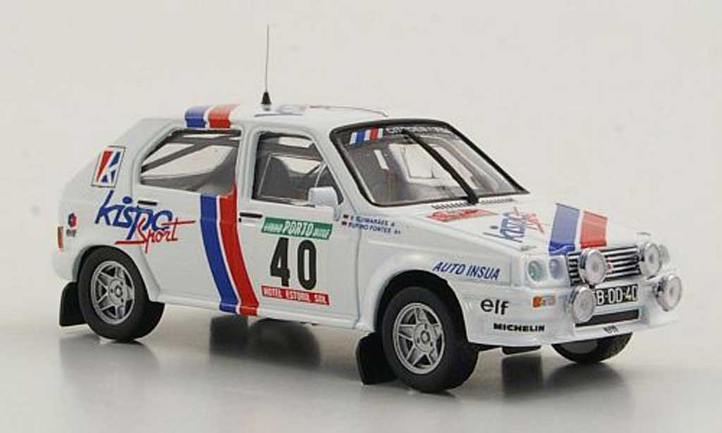 Citroen Visa 1/43 Mini Partes Chrono Gr.B No.40 R.Fontes / V.Guimaraes Rally Portugal 1983 miniature