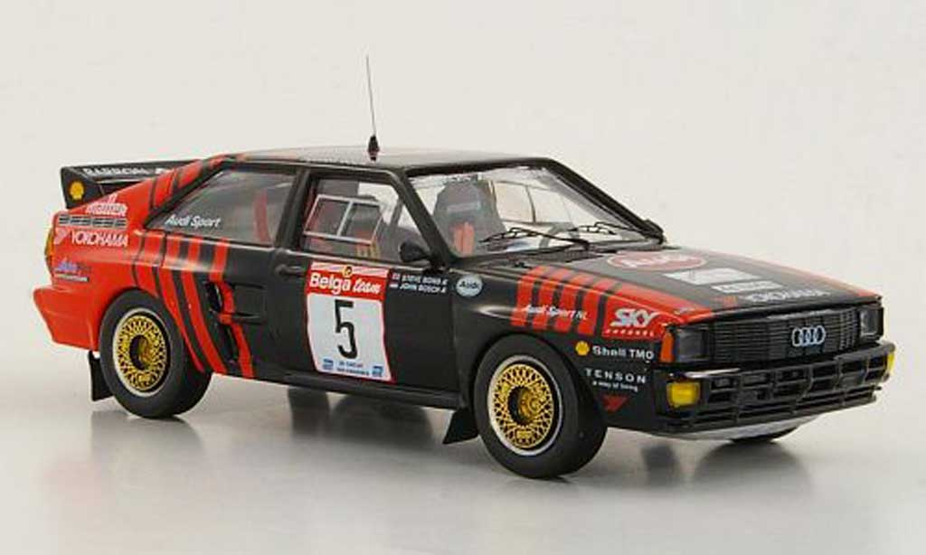 Audi Quattro 1/43 Trofeu No.5 J.Bosch / S.Bond Circuit des Ardennes 1986 diecast model cars