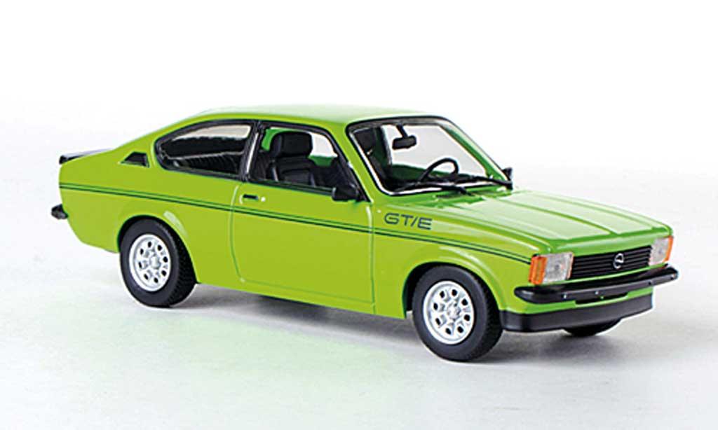 Opel Kadett C 1/43 Minichamps GT/E verte Sondermodell MCW 1978 miniature