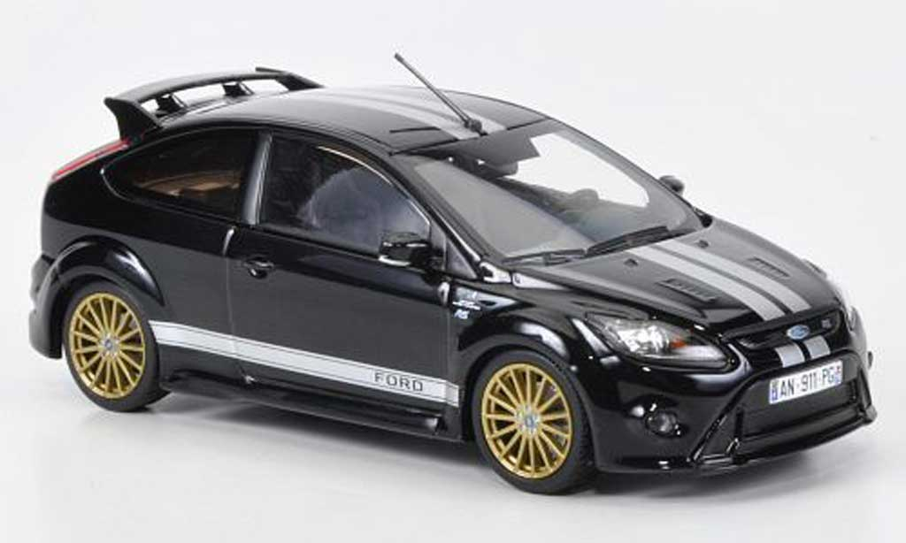 Ford Focus RS Le Mans 1/43 Minichamps Edition noire (GT 40 Design 1966) Sondermodell MCW 2010 miniature