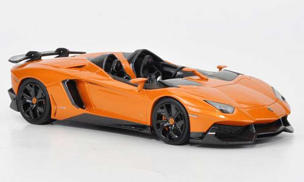 Lamborghini Aventador J 1/43 Look Smart orange Autosalon Genf 2012