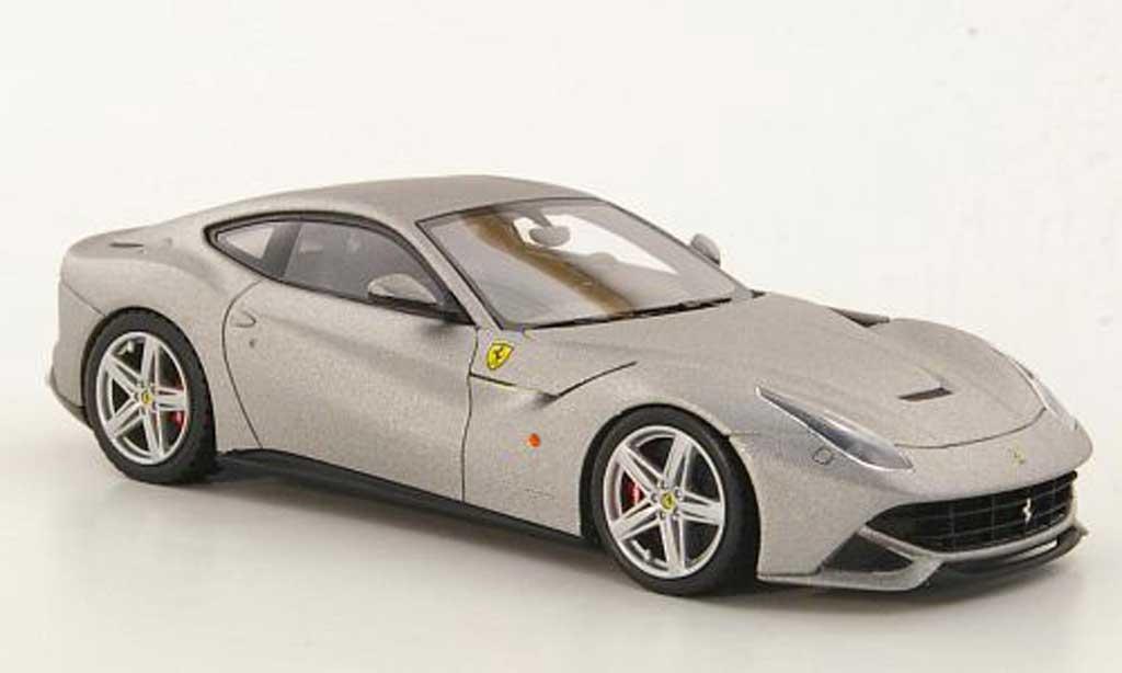 Ferrari F12 1/43 Look Smart Berlinetta mattgrau Autosalon Genf 2012 modellautos