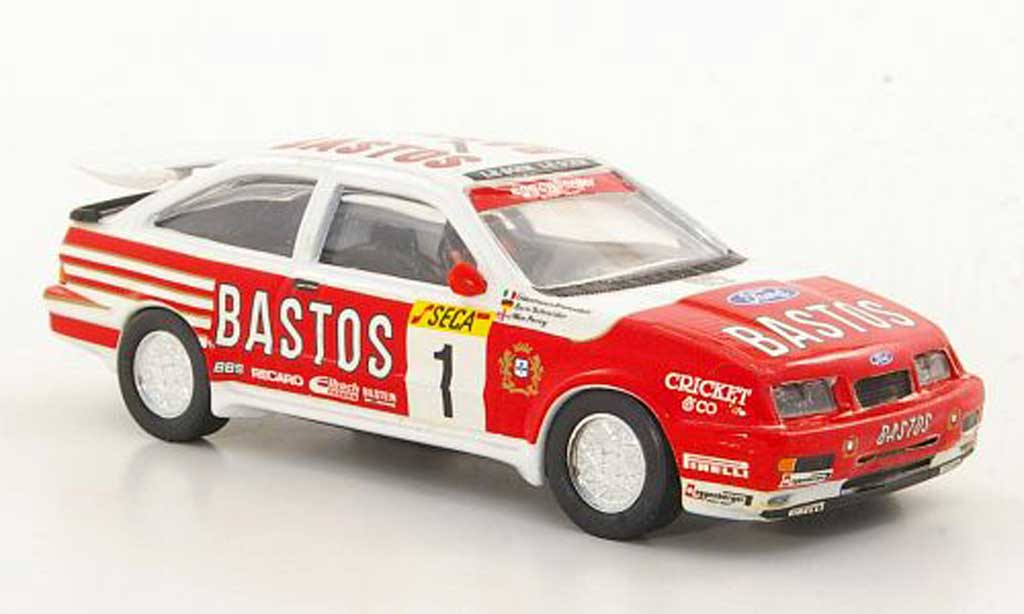 Ford Sierra Cosworth RS 1/43 Trofeu Cosworth No.1 Bastos G.Brancatelli / B.Schneider / W.Percy 24h Spa 1989 diecast