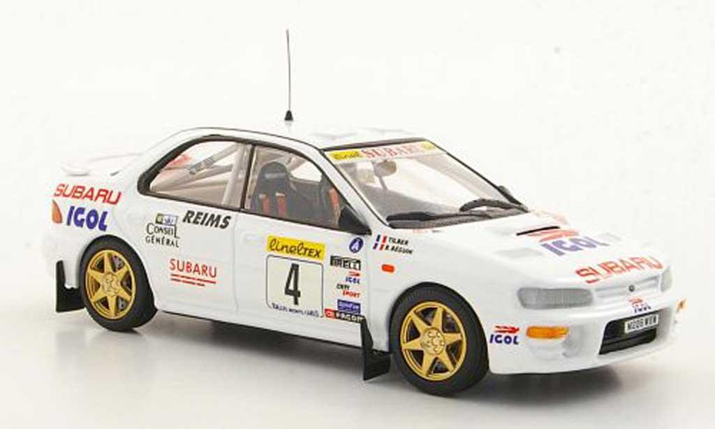 Subaru Impreza WRC 1/43 Trofeu No.4 IGOL Tilber / B.Beguin Rally Monte Carlo 1996 miniatura