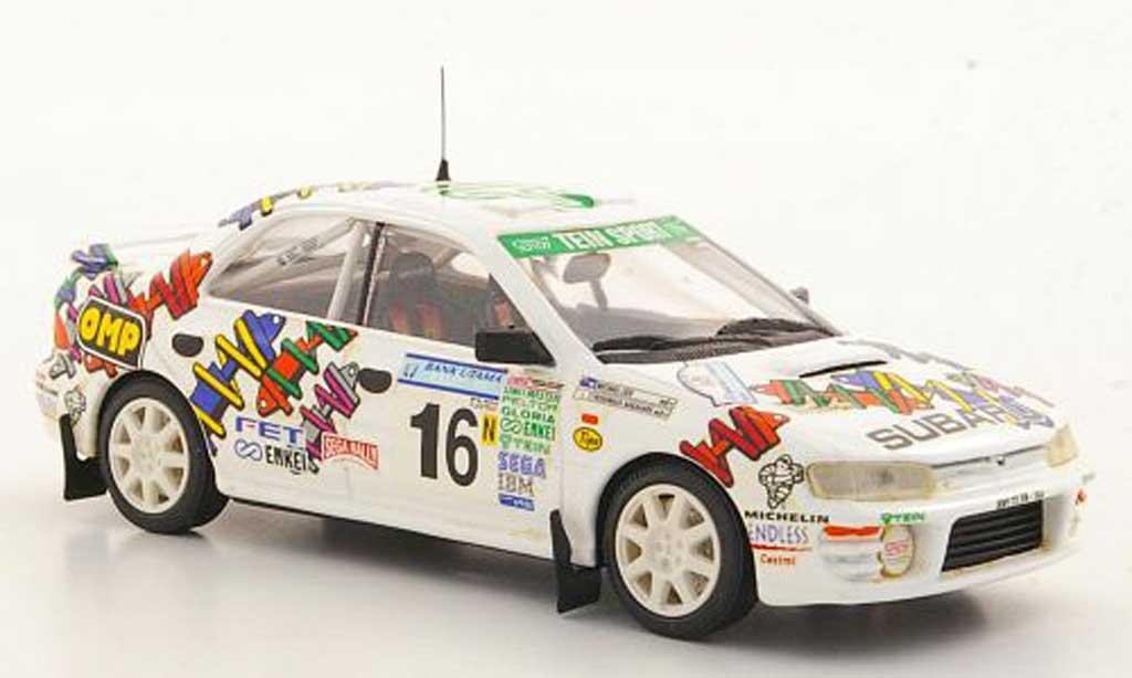 Subaru Impreza WRC 1/43 Trofeu STi No.16 Y.Nakahara / M.Lieu Asia-Pacific Rally 1996 miniature