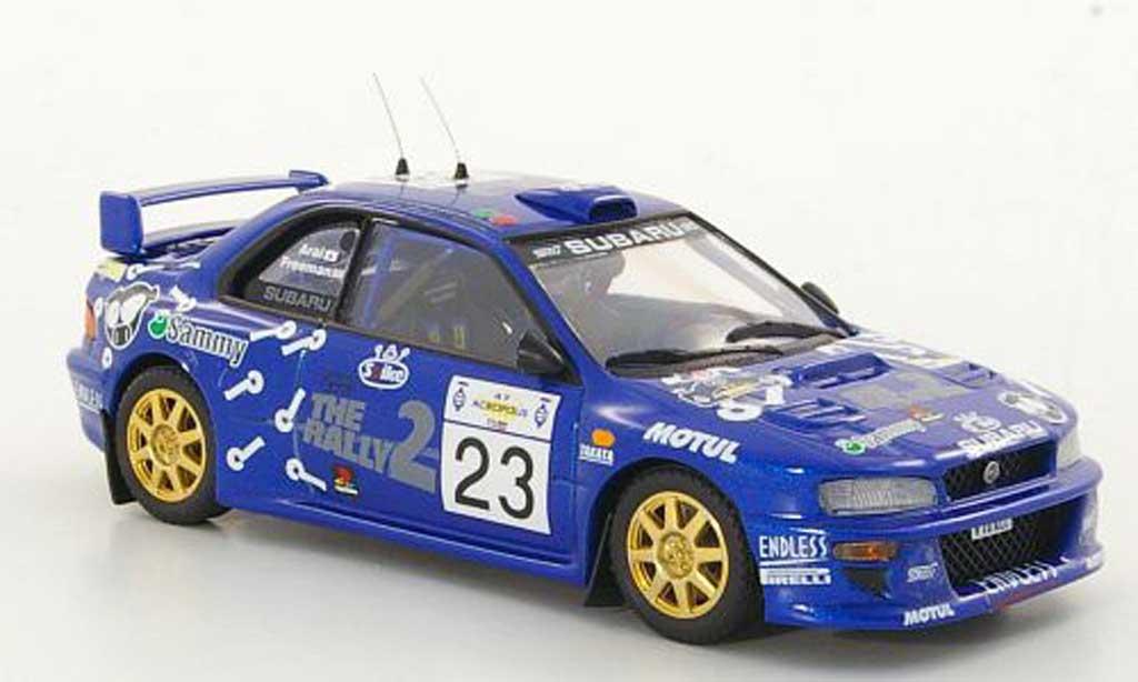 Subaru Impreza WRC 1/43 Trofeu No.23 Arai / Freeman Rally Acropolis 2000 modellino in miniatura