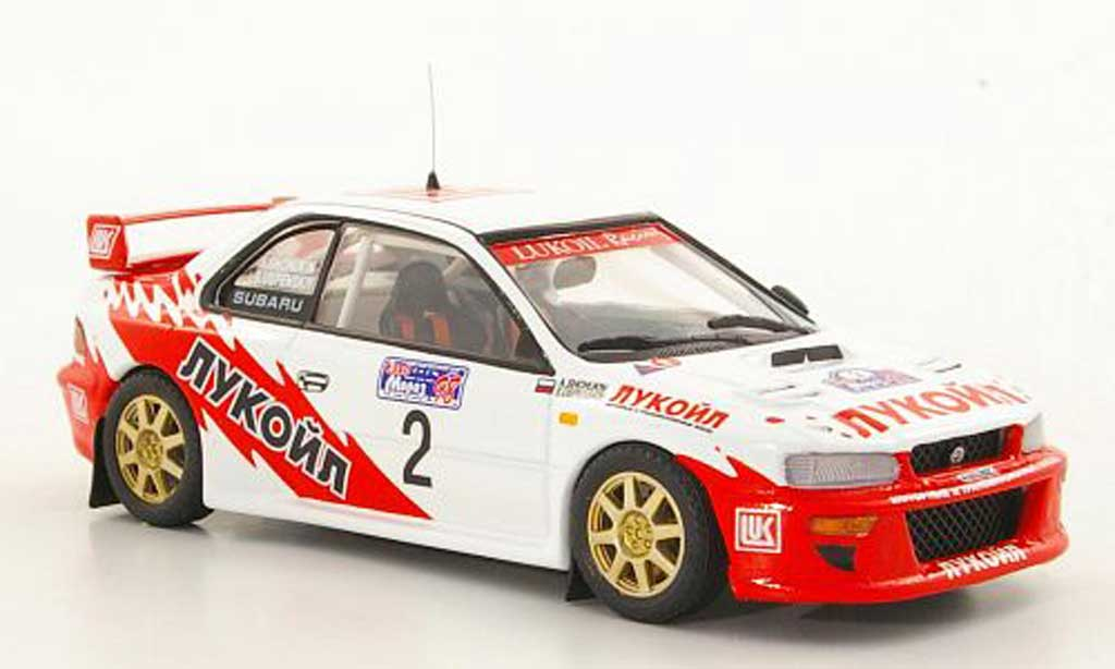 Subaru Impreza WRC 1/43 Trofeu No.2 S.Uspenskiy / A.Shchukin miniature