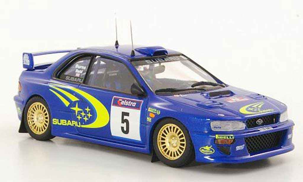 Subaru Impreza WRC 1/43 Trofeu No.5 R.Burns / Reid Rally Australien 1999 modellino in miniatura