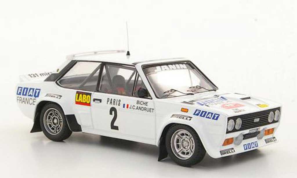 Fiat 131 Abarth 1/43 Trofeu No.2 J.C.Andruet / Biche Rally Monte Carlo  1978 miniature