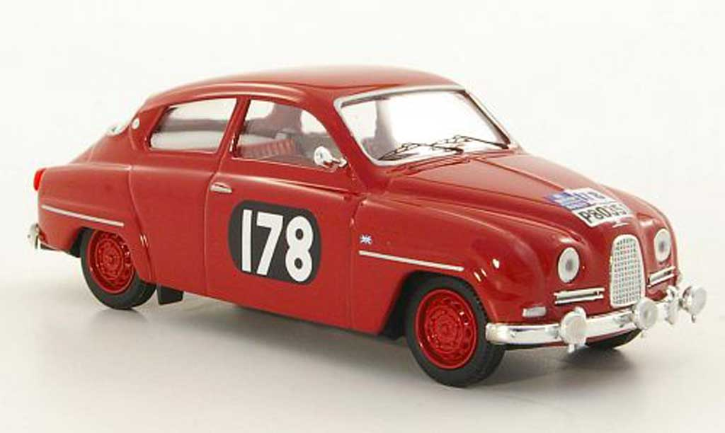 Saab 96 1/43 Trofeu No.178 E.Carlsson / S.Turner RAC Rally 10 miniature