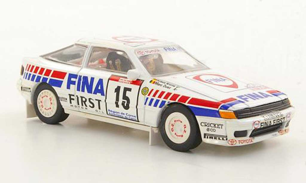 Toyota Celica GT4 1/43 Trofeu No.15 Fina M.Duez / K.Wicha Tour de Corse 1991 modellautos