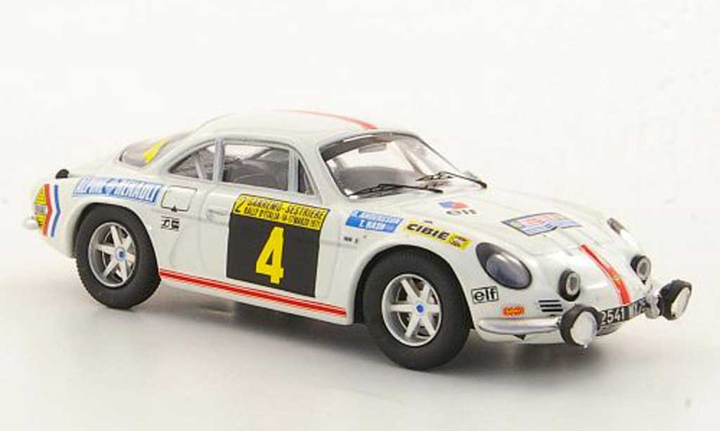 Alpine A110 1/43 Trofeu 1600S No.4 O.Andersson / T.Nash Rally San Remo 1971 diecast model cars