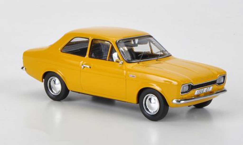 Ford Escort MK1 1/43 Trofeu 1300 GT jaune RHD 1968 miniature
