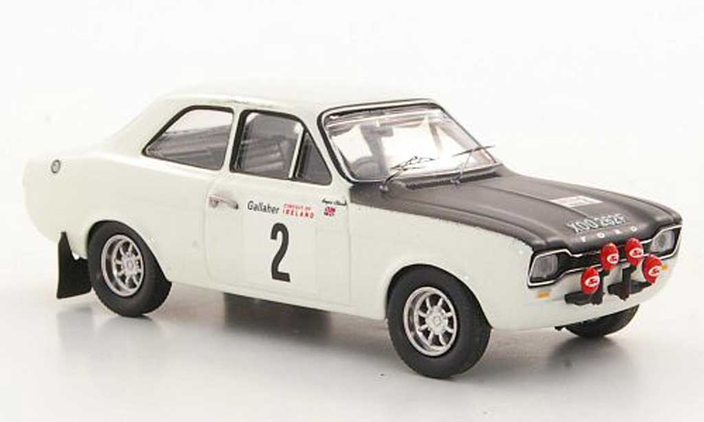 Ford Escort RS 1600 1/43 Trofeu TC No.2 R.Clark / J.Porter Rally Irland 1968 miniature