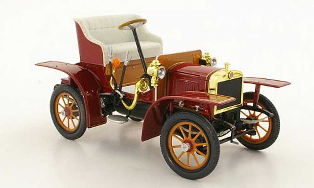 Laurin Klement Voiturette 1/18 Abrex Laurin-Klement rouge 1905 miniature