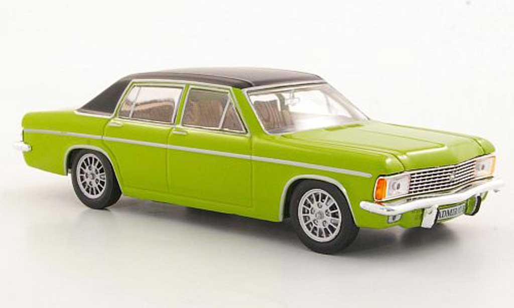 Opel Admiral 1/43 Hachette B verte/noire (ohne Magazin) 1969 miniature