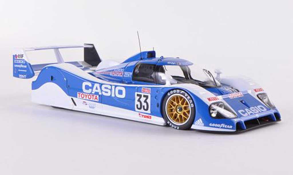 Toyota TS010 1/43 HPI No.33 Team Tom s P.H.Raphanel / M.Sekiya / K.Acheson 24h Le Mans  1992 miniature