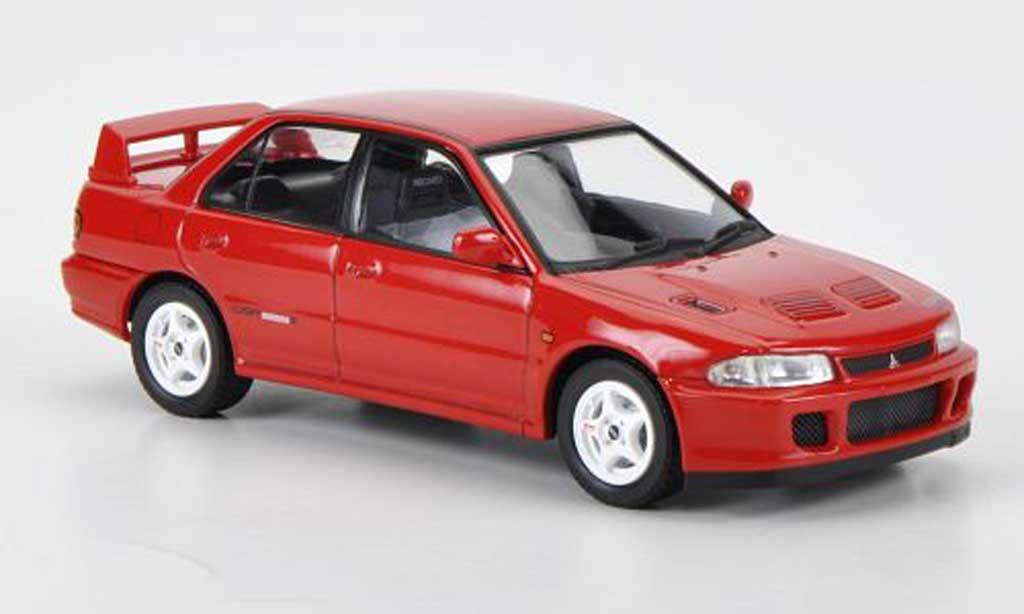 Mitsubishi Lancer Evolution II 1/43 HPI GSR rouge RHD 1994 miniature