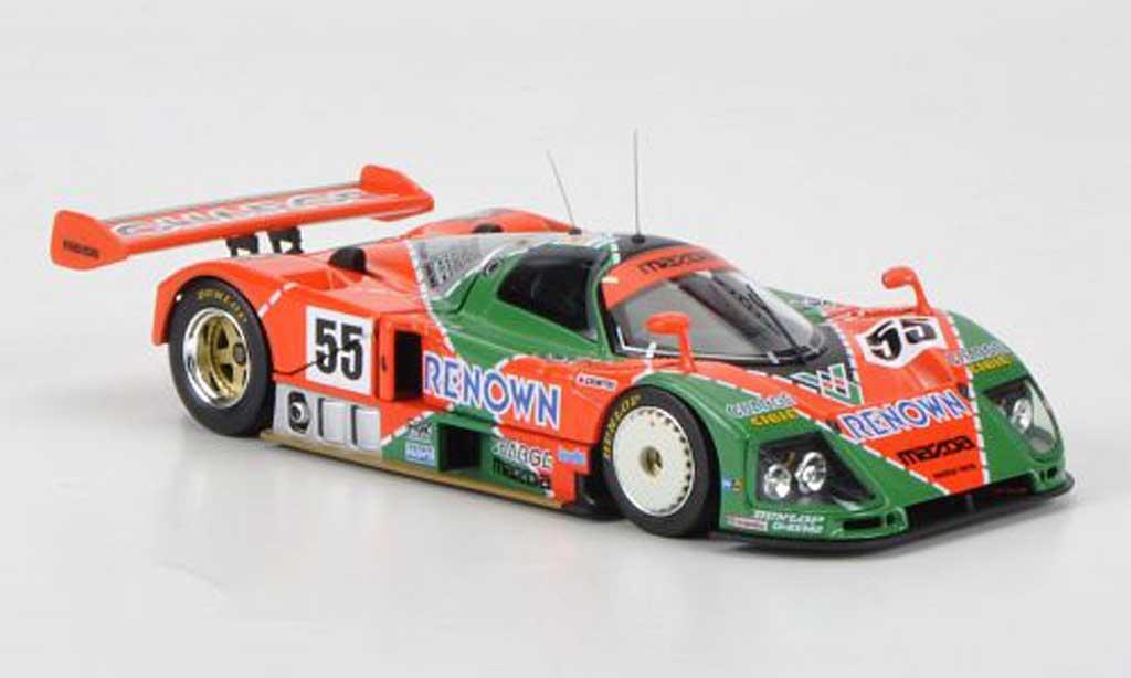Mazda 787B 1/43 HPI No.55 Renown V.Weidler / J.Herbert / B.Gachot 24h Le Mans 1991 miniature