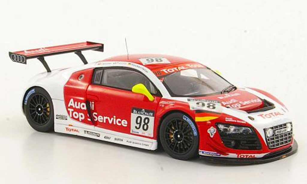 Audi R8 LMS 1/43 Spark No.98 Top Service Fassler / Piccini / Rockenfeller 24h Spa 2011 diecast model cars