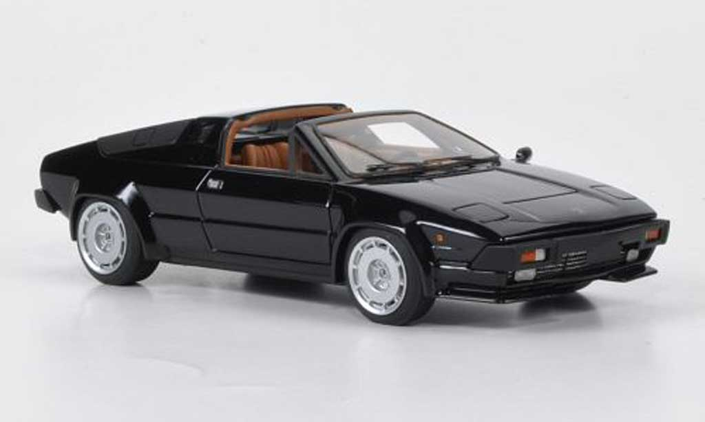 Lamborghini Jalpa 1/43 Look Smart black 2012 diecast