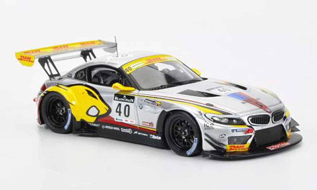 Bmw Z4 E89 1/43 Spark No.40 M.Martin/B.Leinders/M.Hennerici 24h Spa 2011 reduziert