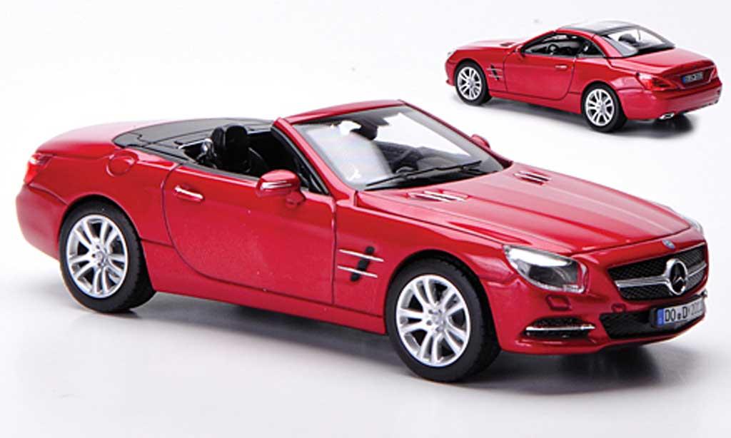Mercedes Classe SL 500 1/43 Norev 500 (R231) rouge 2012 miniature