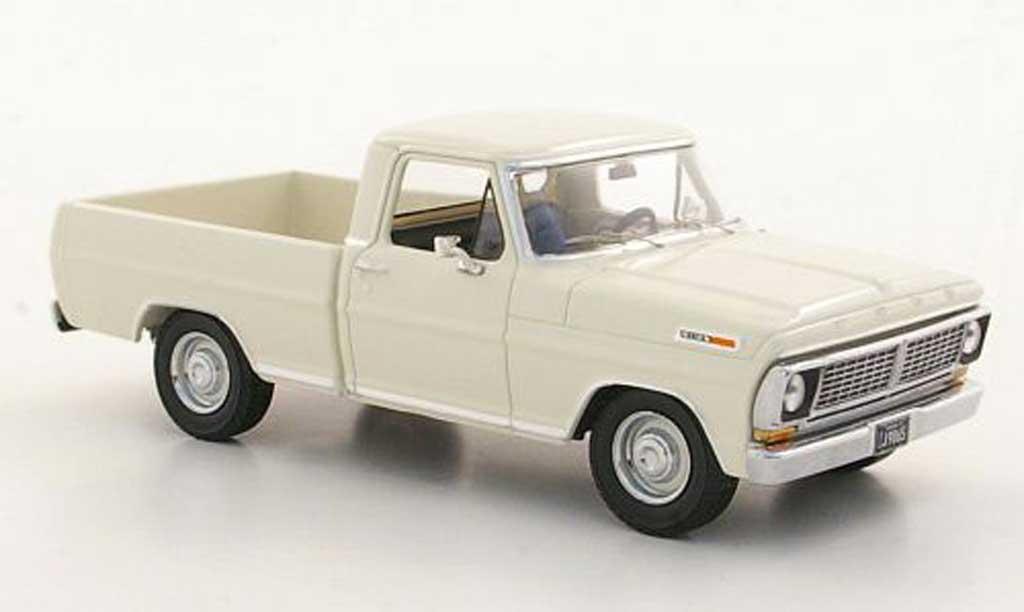 Ford F 100 1/43 Premium X blanche 1978 miniature