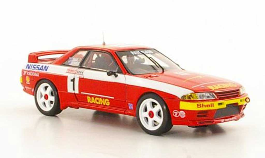 Nissan Skyline R32 1/43 Apex GT-R No.1 M.Skaife / J.Richards Tooheys 1000 Meilen 1992 miniature