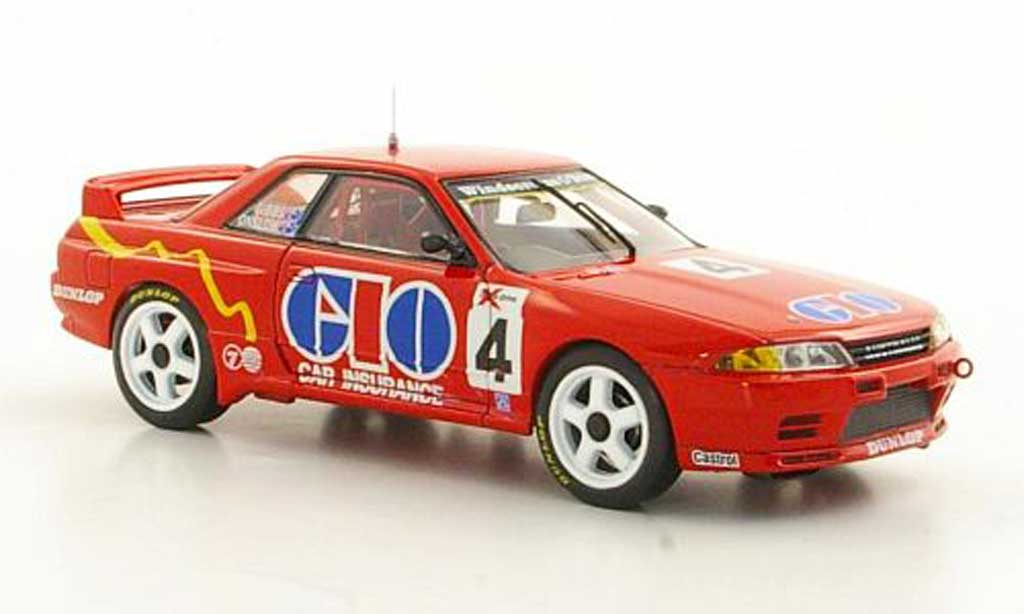 Nissan Skyline R32 1/43 Apex GT-R No.4 M.Gibbs / R.Onslow Sandown 500 1991 miniature